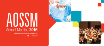 2016 AOSSM Annual Meeting